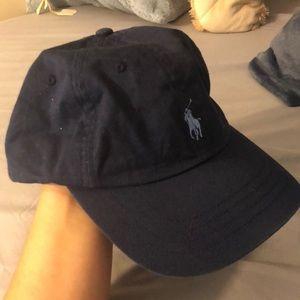 Navy Blue Polo Ralph Lauren Baseball Hat